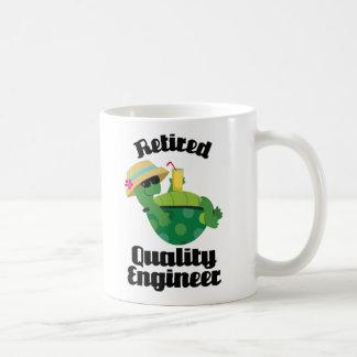 Retired Quality Engineer Gift Coffee Mugs