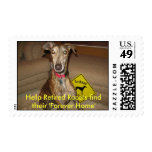 Retired Racers postage stamp
