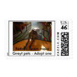 Retired Racers Postage Stamps