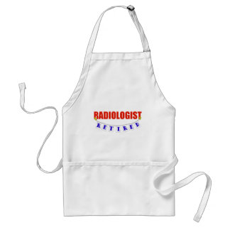 RETIRED RADIOLOGIST ADULT APRON