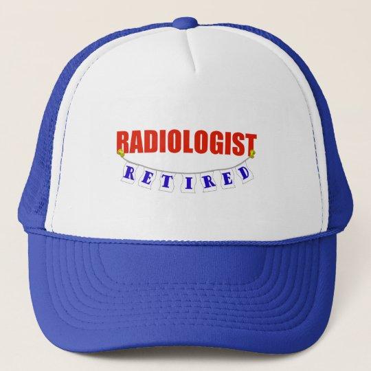 RETIRED RADIOLOGIST TRUCKER HAT