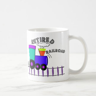 Retired Railroad Worker Gifts Coffee Mug