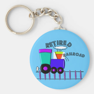 Retired Railroad Worker Gifts Keychain