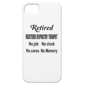 Retired Registered Respiratory Therapist No job No iPhone SE/5/5s Case