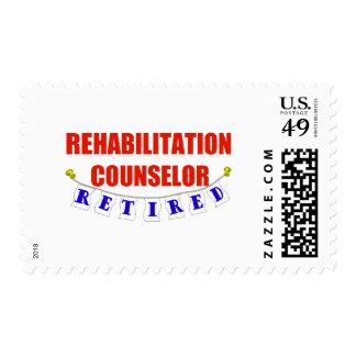 RETIRED REHAB COUNSELOR POSTAGE STAMPS