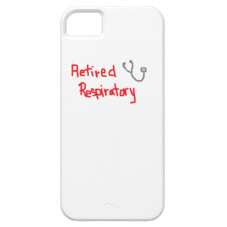 RETIRED RESPIRATORY THERAPIST iPhone SE/5/5s CASE