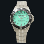 """Retired Respiratory Therapist Wrist Watch<br><div class=""""desc"""">Retired Respiratory Therapist --Great designs from zazzlecom/BootsPlace*,  Unique gifts for the ones you love. Or Create your own personalized product using one of your own images,  designs,  or text. Just click the  &quot;customize it&quot; button on most of our products  Thanks for Shopping at our store.</div>"""