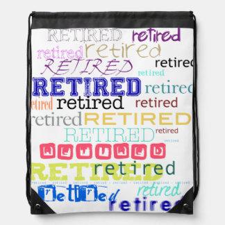Retired - Retirement Gift - Backpack #1