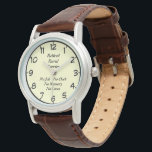 "Retired Rural Carrier Wristwatch<br><div class=""desc"">Retired Rural Carrier ---Great designs from BootsPlace,  Unique gifts for the ones you love. Or Create your own personalized product using one of  your own images,  designs,  or text. Just click the  &quot;customize it&quot; button on most of our products.   Thanks Will</div>"