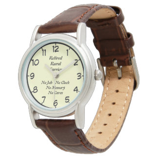 Retired Rural Carrier Wristwatch