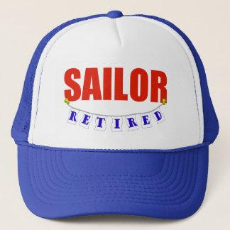 RETIRED SAILOR TRUCKER HAT