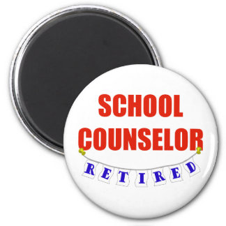 RETIRED SCHOOL COUNSELOR MAGNET