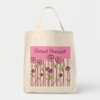 Retired School Principal Tote Bag