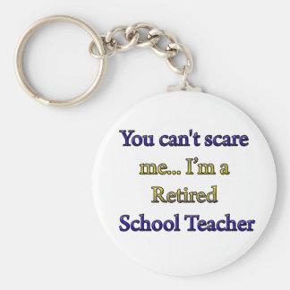 RETIRED SCHOOL TEACHER KEYCHAINS