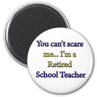 RETIRED SCHOOL TEACHER MAGNET