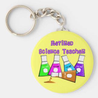 Retired Science Teacher Gifts Keychain