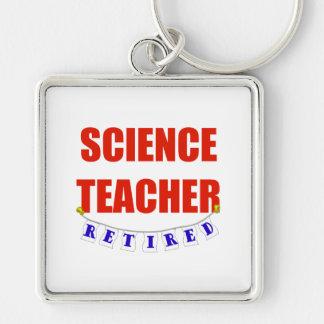 RETIRED SCIENCE TEACHER KEYCHAIN