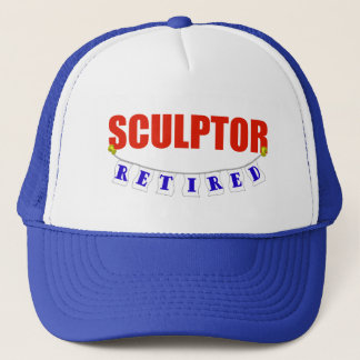 RETIRED SCULPTOR TRUCKER HAT
