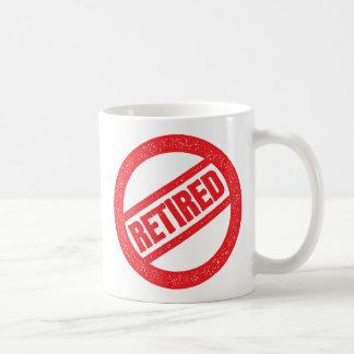 retired seal - round stamp coffee mug