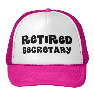 Retired Secretary Gift Trucker Hat