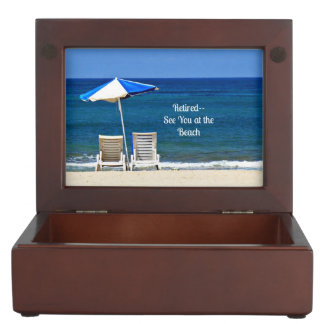 Retired--See You at the Beach Memory Box