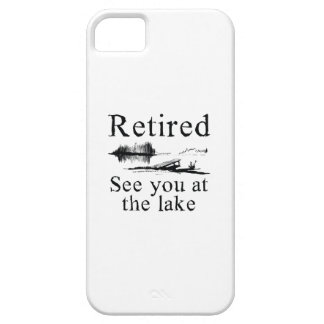 Retired See You At The Lake iPhone SE/5/5s Case