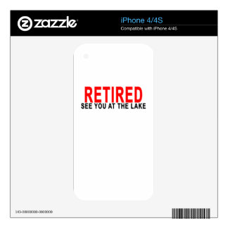 RETIRED SEE YOU AT THE LAKE.png Decal For iPhone 4