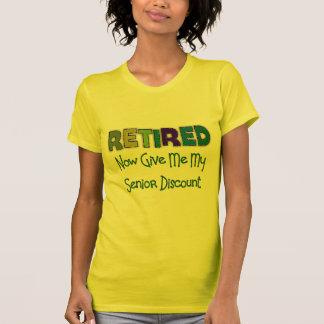 Retired SENIOR DISCOUNT T-Shirt