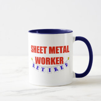 RETIRED SHEET METAL WORKER MUG