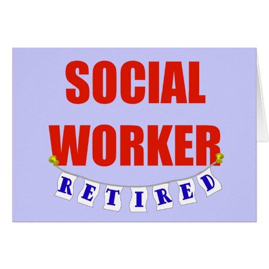 RETIRED SOCIAL WORKER CARD