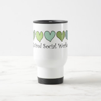 Retired Social Worker Gifts Travel Mug
