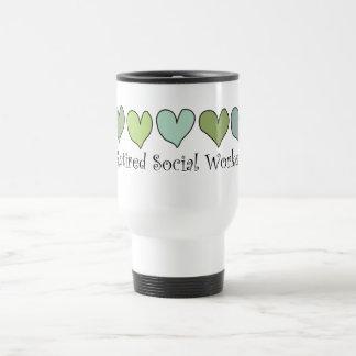 Retired Social Worker Gifts Travel Mug
