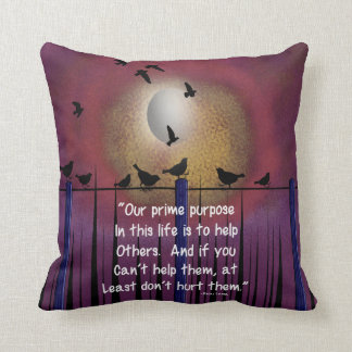 Retired Social Worker Pillow Quote #22