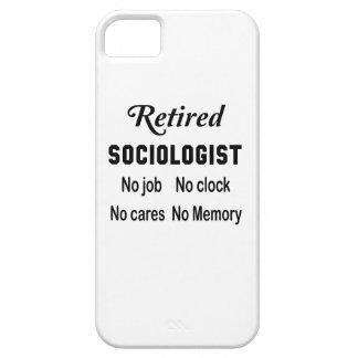 Retired Sociologist No job No clock No cares iPhone SE/5/5s Case