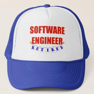 RETIRED SOFTWARE ENGINEER TRUCKER HAT