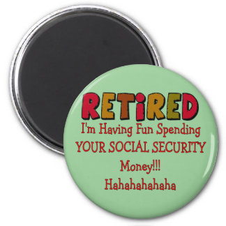 Retired --Spending Your Social Security Magnet