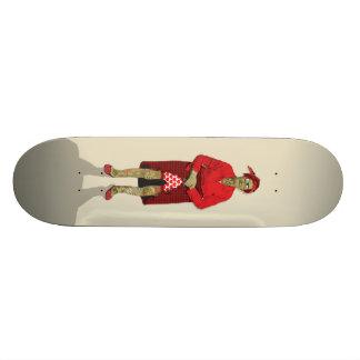 Retired Suicide Girl Skateboard