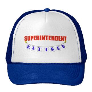 RETIRED SUPERINTENDENT TRUCKER HAT