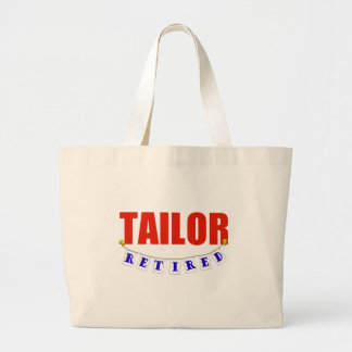 RETIRED TAILOR LARGE TOTE BAG