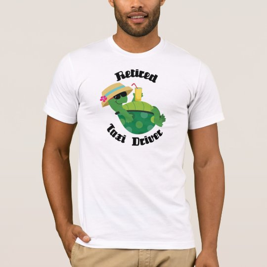 Retired Taxi Driver (Turtle) T-Shirt