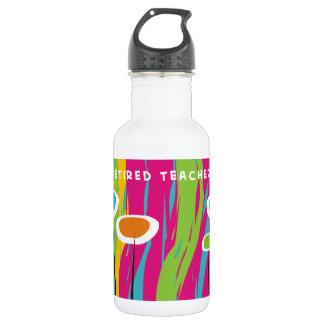 Retired Teacher Appreciation Water Bottle