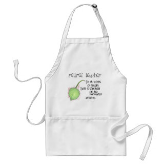 Retired Teacher Aristotle Quote Design Gifts Adult Apron