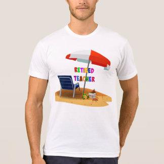 Retired Teacher, Beach Scene T-Shirt