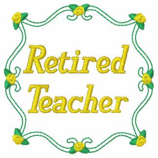 Retired Teacher Embroidered Shirt
