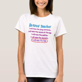 Retired Teacher Funny T-Shirt 2