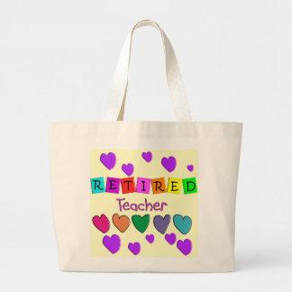 Retired Teacher Gifts Tote Bag