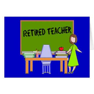 Retired Teacher Gifts Card