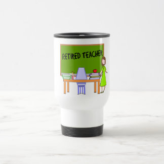 Retired Teacher Gifts Travel Mug