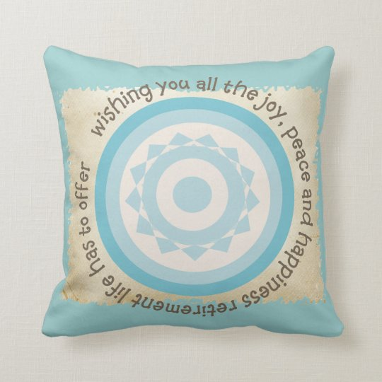 Retired Teacher Quote Pillow