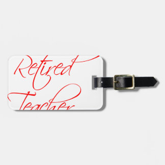 retired-teacher-scriptina-red.png luggage tag